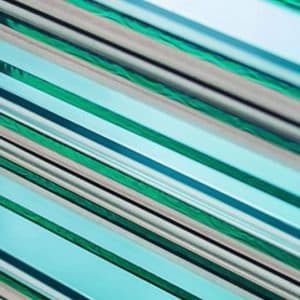 How is Toughened pool fencing glass made