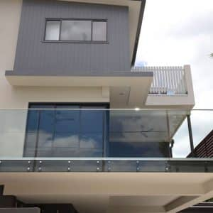 Fixed pin Glass Balustrades