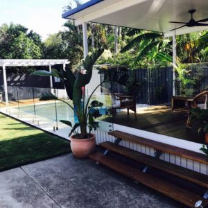 Brisbane house pool fence