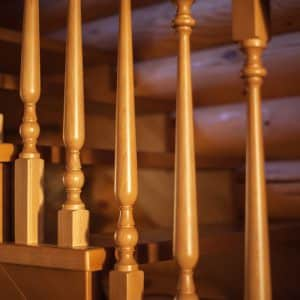 Traditional Balustrades in a house