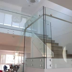 Custom Fabricated Glass Balustrade