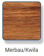 Merbau - Kwila Hardwood Timber Handrail Material with a Coarse but Even Texture