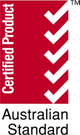 Australian Standard Certified Product Badge