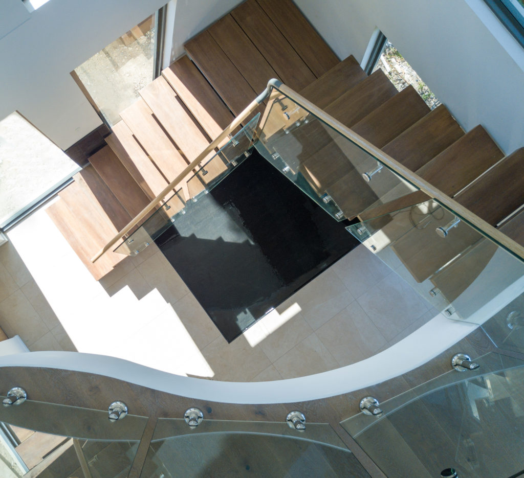 Custom Fabricated Glass Balustrade