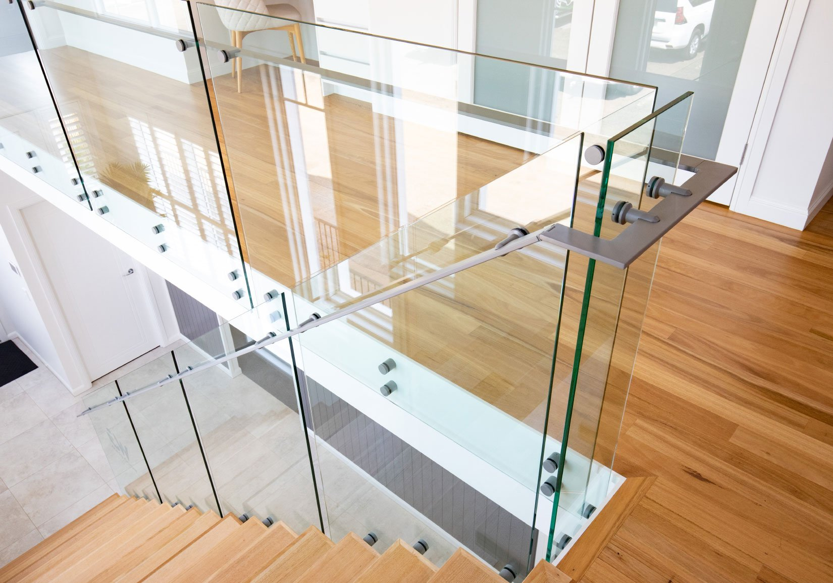 Custom Fabrication - Glass Balustrade