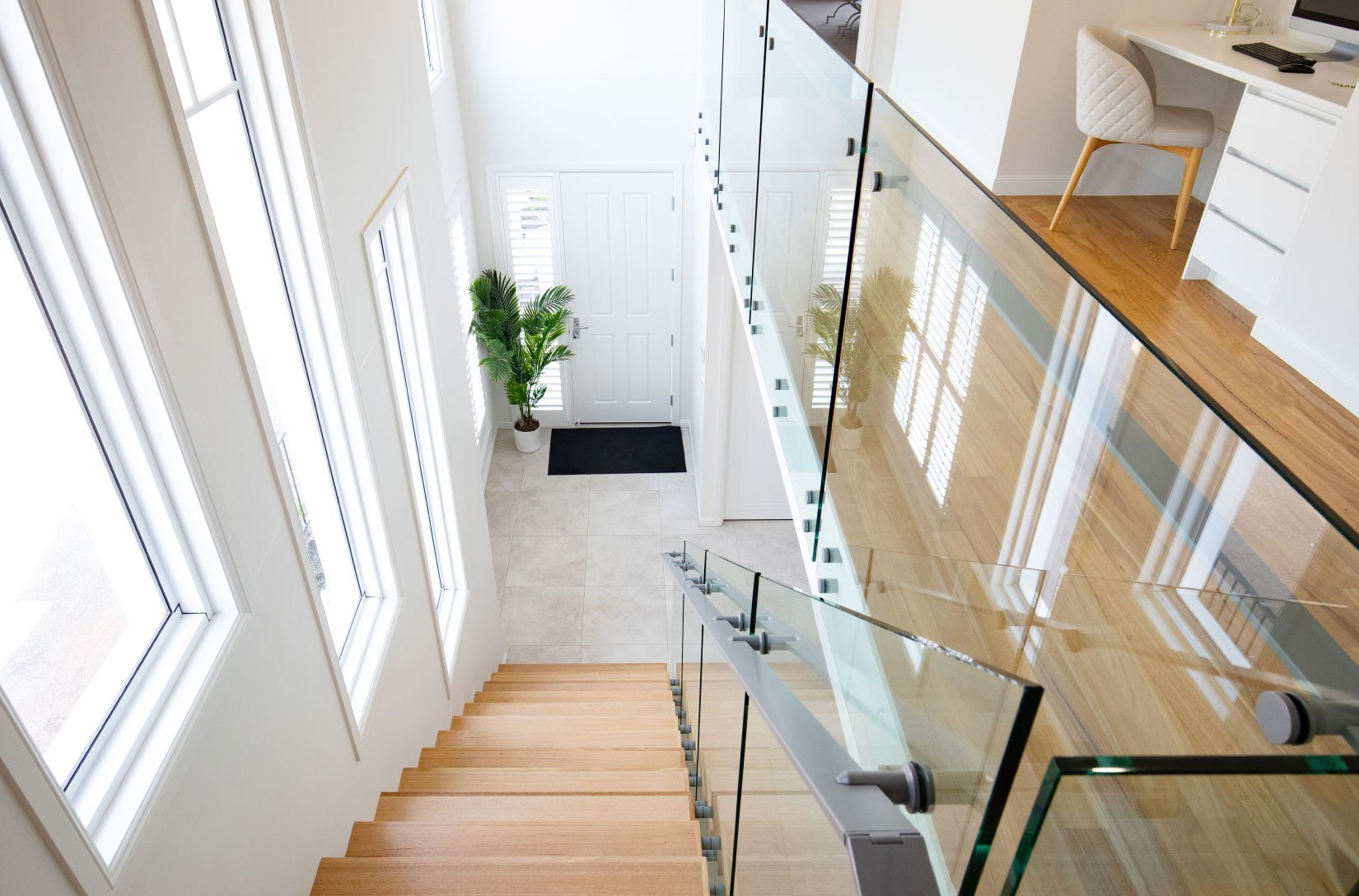 Custom Fabrication - Glass Balustrades