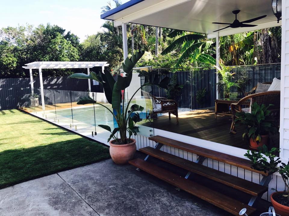 brisbane house pool fence