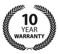 10 Year Warranty Wreath