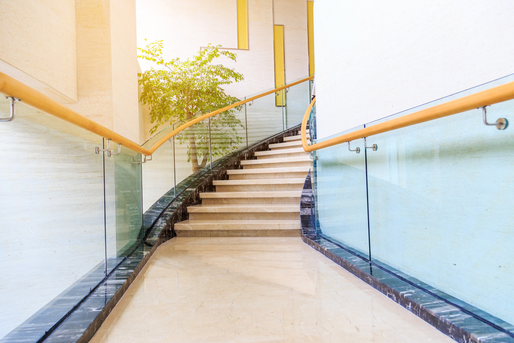 commercial Glass Stair Balustrades
